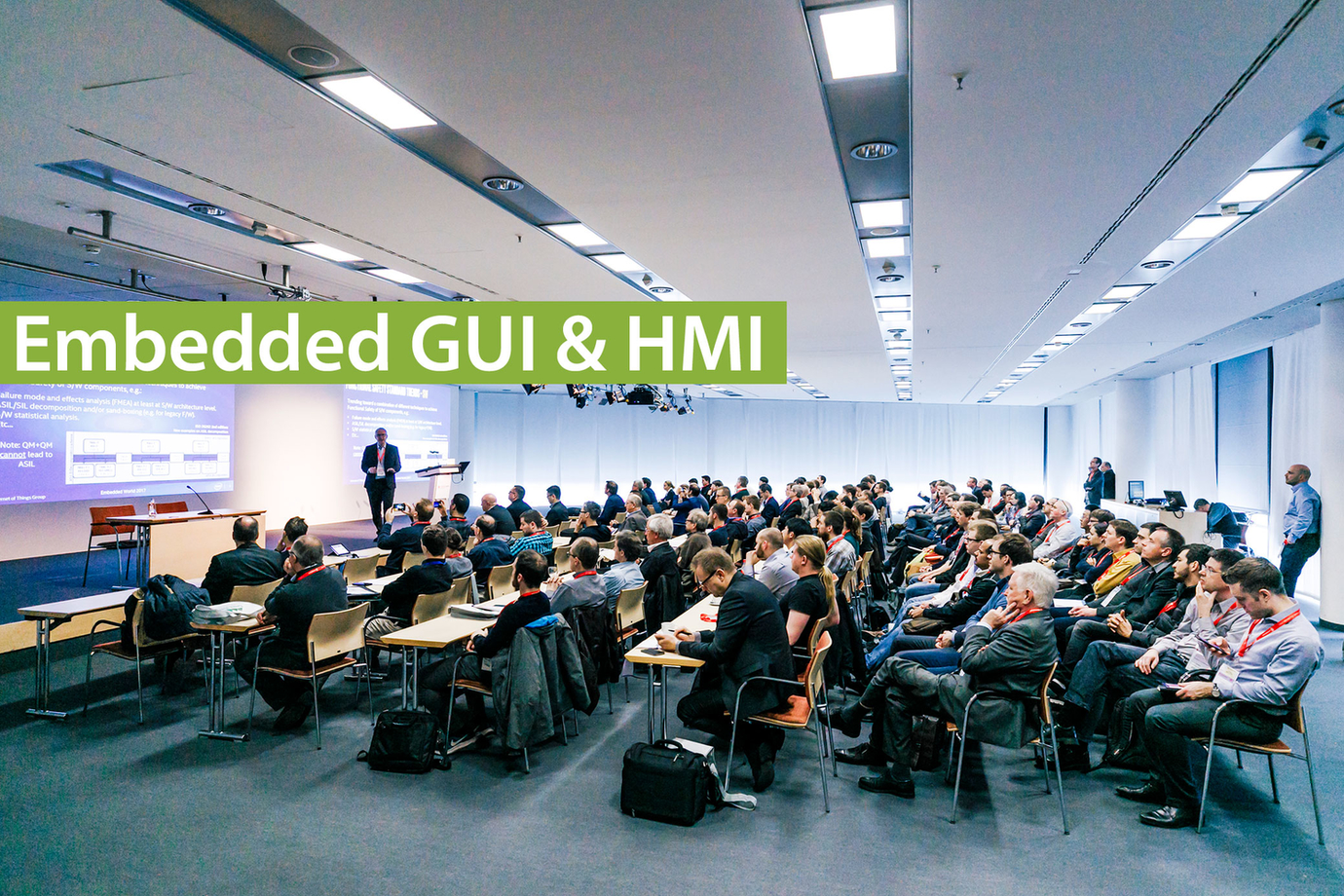 embedded world Conference - Embedded GUI & HMI