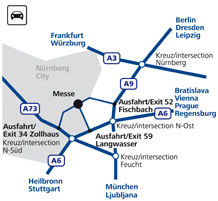 NürnbergMesse Travel - Car
