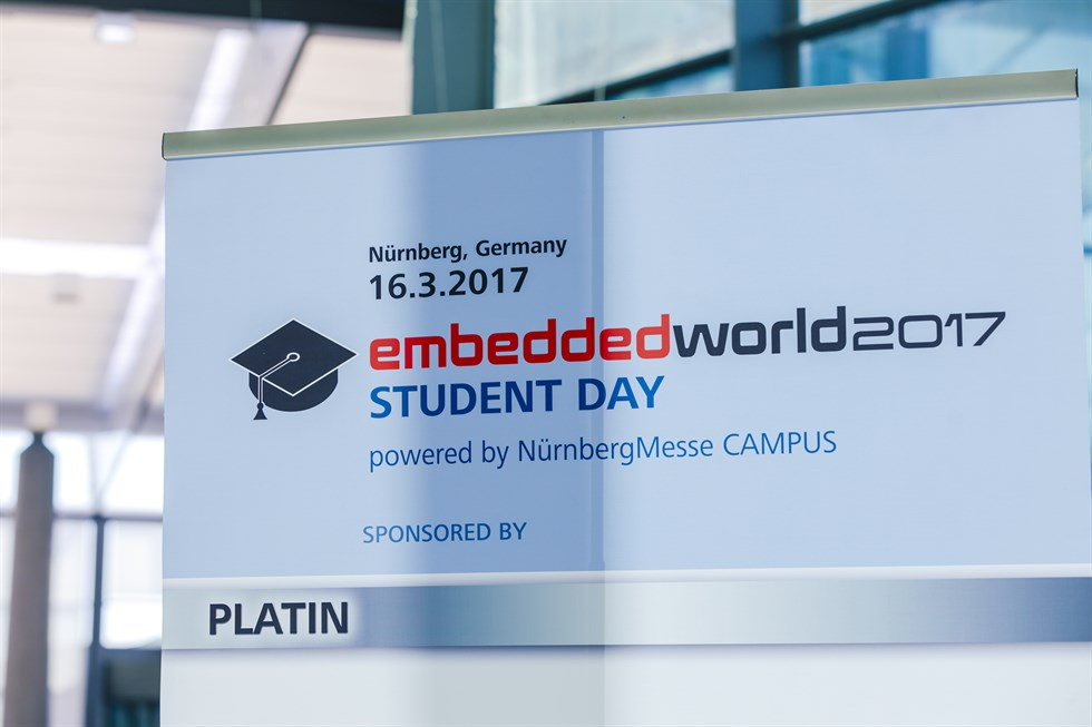 embedded world 2017 Rückblick - STUDENT DAY