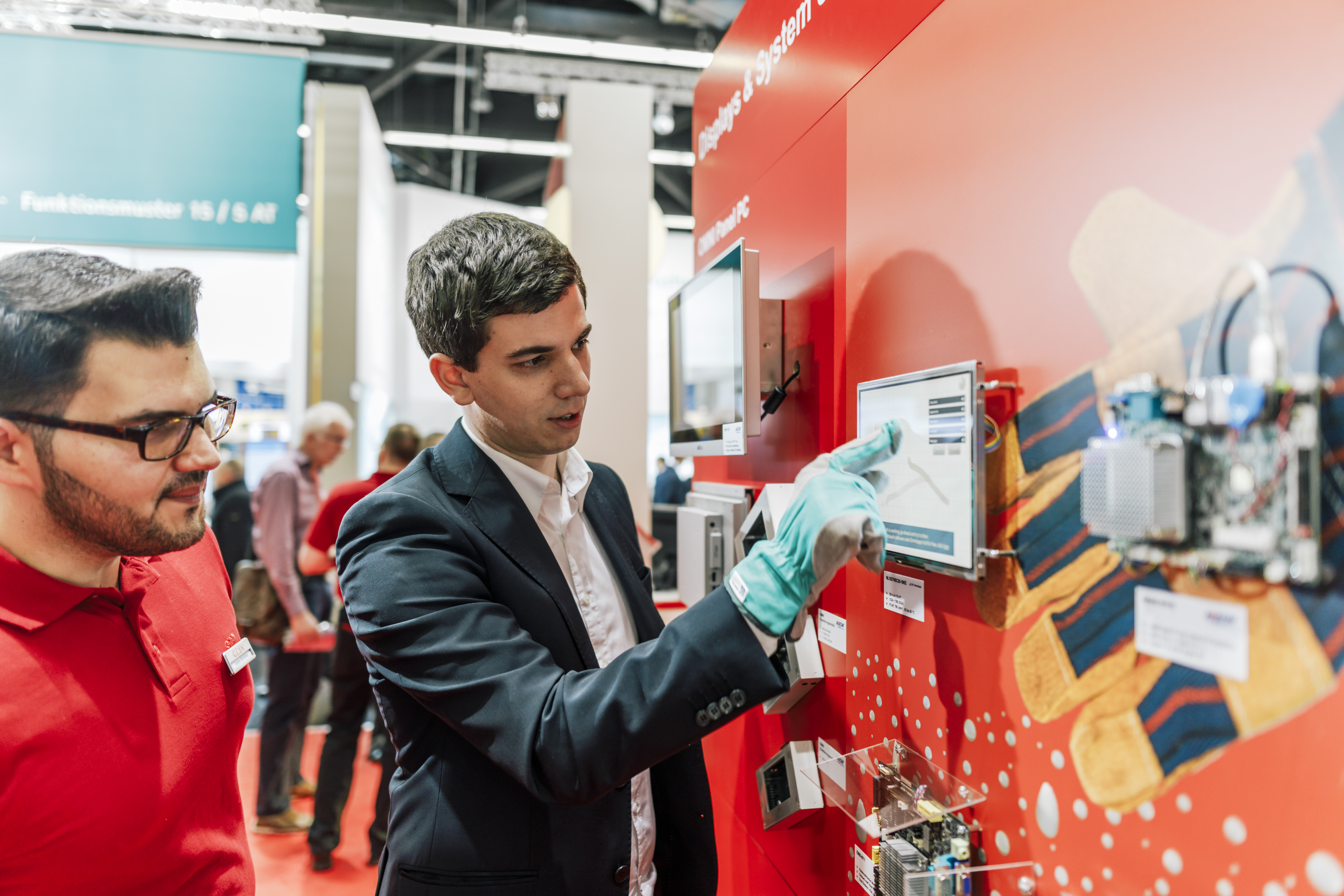 embedded world 2017 Rückblick - Messestand